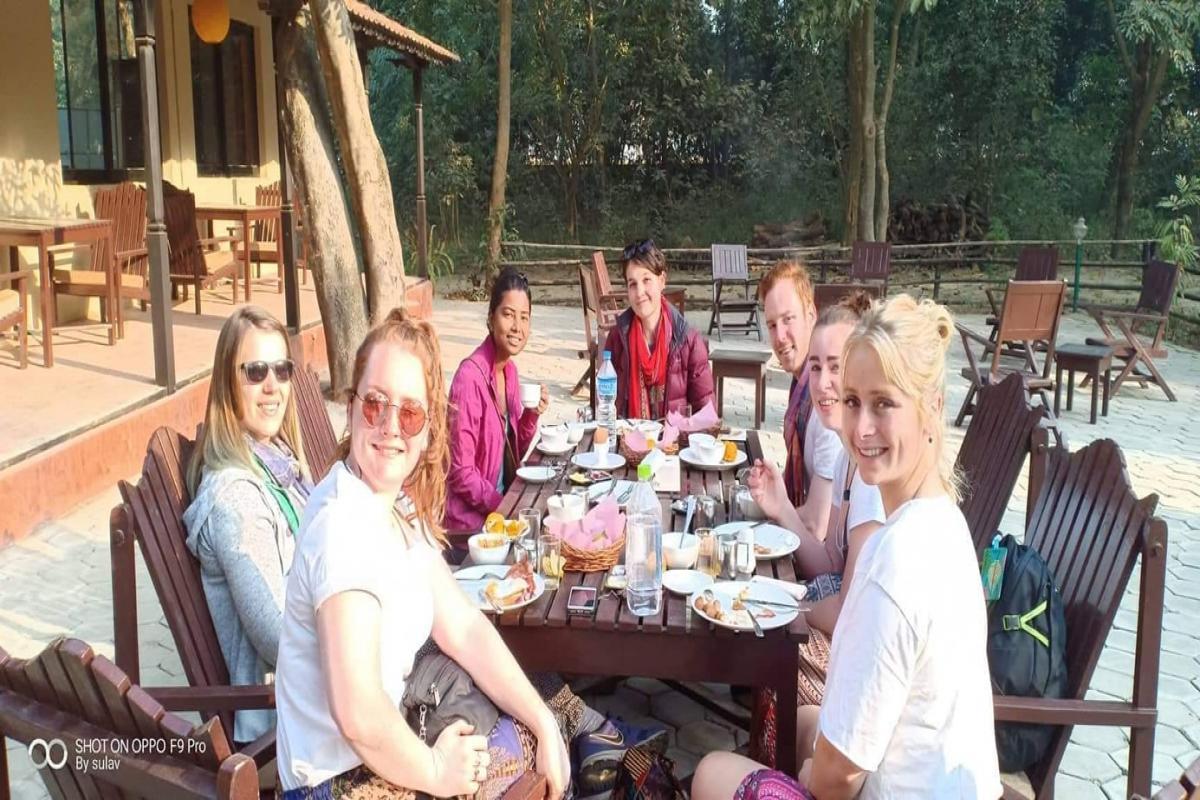 Outdoor dining- Lumbini Buddha Garden